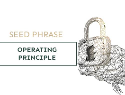 Seed phrase – Operating principle